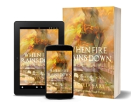 eReader Phone Paperback When Fire Rains Down #3
